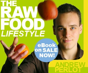 Raw Food Lifestyle Square Ad