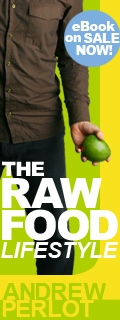 Raw Food Lifestyle Side Banner