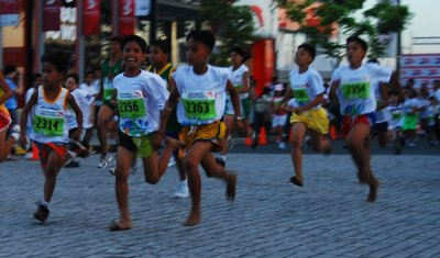 Born To Run Running Kids