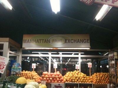Eating Raw In Manhattan Fruit Exchange