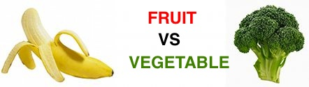 Fruit Vs Vegetable Show Down
