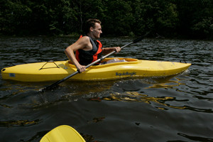 Low Fat Raw Vegan Kayak
