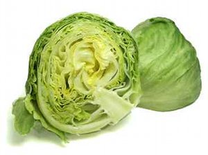 Iceberg Lettuce Half