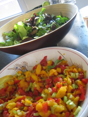 Raw Mango Salsa Recipe Seven