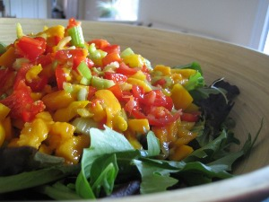 Raw Mango Salsa Recipe Six
