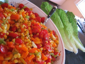 Raw Mango Salsa Two