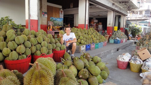 Durian Fruit Andrew Pile