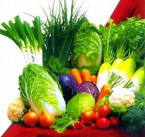 Organic Raw Food Diet Leafy Greens
