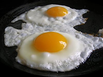Raw Food Nutrition Fried Egg