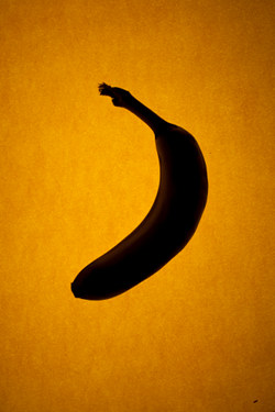 Raw Diet Insomnia Banana Outline