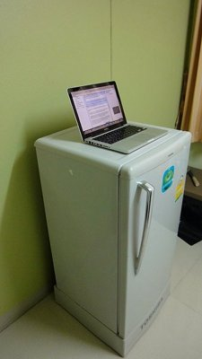 Stand Up Desk Fridge