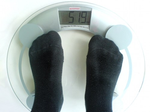 Overweight Scale Raw Food Diet