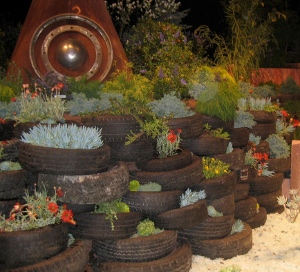 Raised Bed Garden Tires
