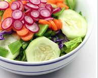 List Of Vegetables Sald                         Bowl